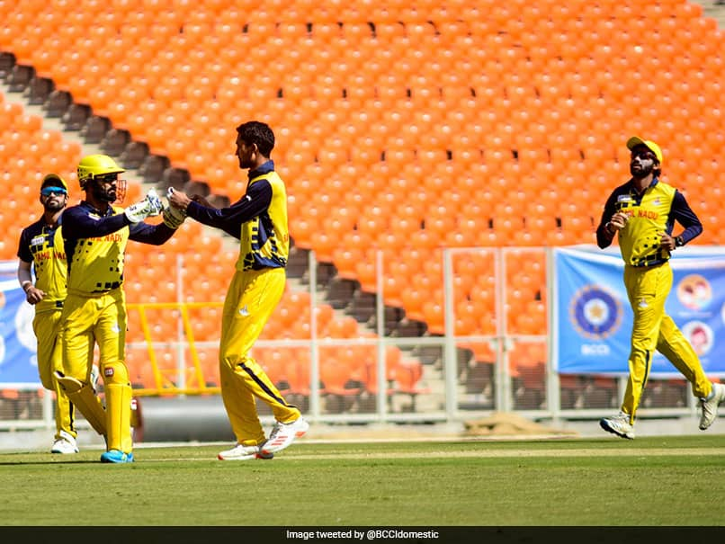 Syed Mushtaq Ali Trophy: Tamil Nadu Beat Baroda By 7 Wickets In Final To Clinch Title