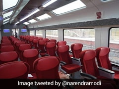 See Pics Of Jan Shatabdi Express With Vistadome Coaches Shared By PM Modi