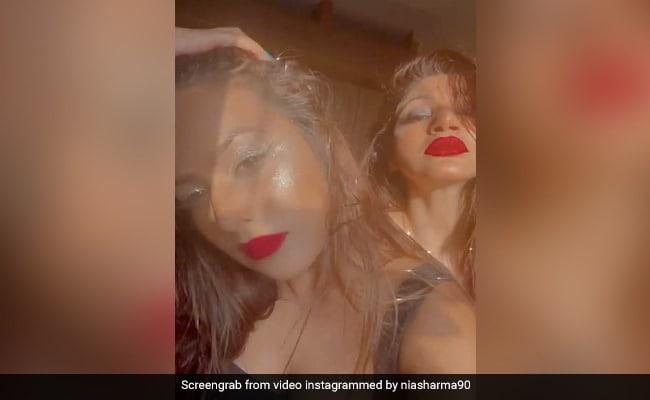 निया शर्मा ने दोस्त संग शेयर किया Video, बोलीं- ब्रेकफास्ट में ग्लिटर खाओ और पूरे दिन...