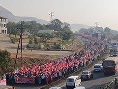कृषि कानूनों के विरोध में महाराष्ट्र के 21 जिलों के किसान प्रदर्शन करने मुंबई पहुंचे