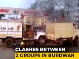 Video : Clash At BJP Party Offices In Bengal, Vehicles Set On Fire