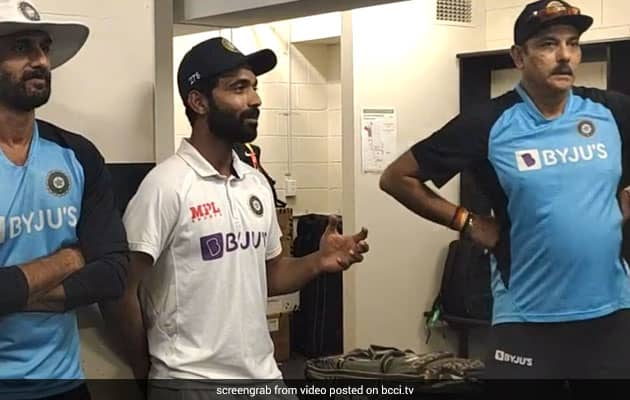 Watch: Rahanes Dressing Room Speech At The Gabba After Historic Win