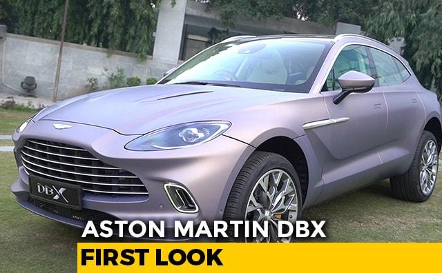 Video : First Look: Aston Martin DBX