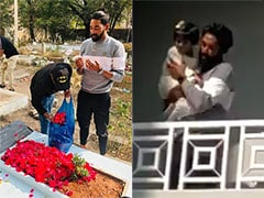 Mohammed Siraj Goes To Father's Grave Immediately After Landing In Hyderabad