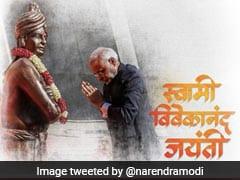 """""""Let Us Spread Swami Vivekananda's Dynamic Thoughts"""": PM Modi"""