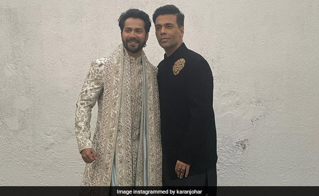 "At Varun-Natasha Wedding, KJo Was Filled With A ""Multitude Of Emotions"""