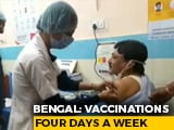 Video : Ahead Of Bengal Polls, Trinamool, BJP Spar Over Vaccination