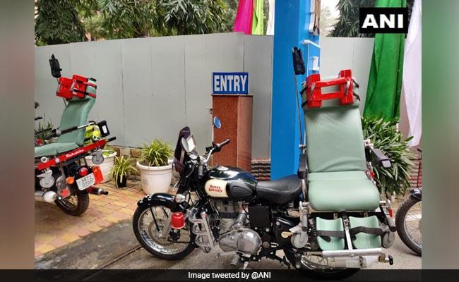 Bike Ambulance 'Rakshita' To Help Security Personnel During Emergencies