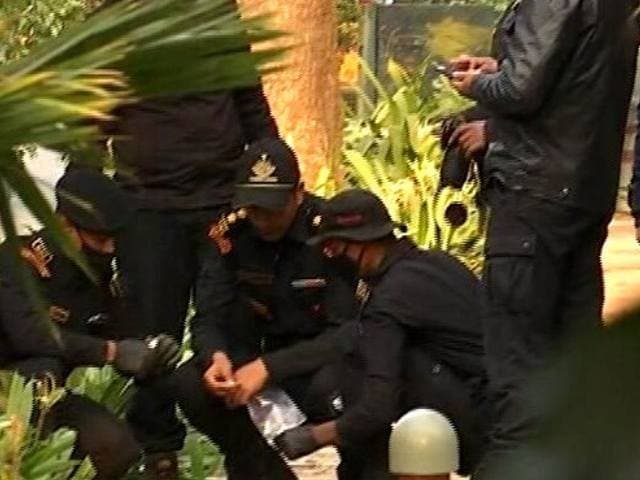 Video : Special NSG Team To Analyse Explosives From Blast Near Israel Embassy