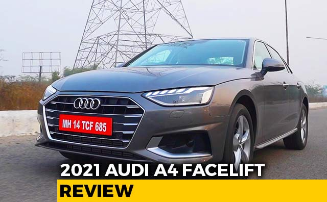 Video : 2021 Audi A4 Facelift Review