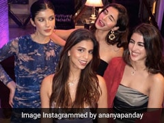 Bollywood Besties Ananya, Suhana, Navya And Shanaya Get Their Glam On
