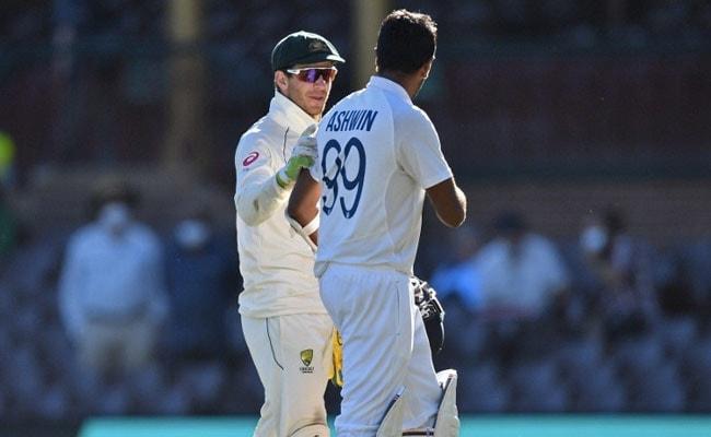 AUS vs IND: अश्विन से छींटाकशी करने पर टिम पेन ने मांगी माफी, बोले- बेवकूफ लगा मैं'