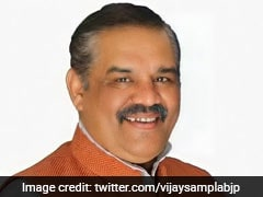BJP Leader Vijay Sampla Takes Charge As Scheduled Castes Commission Chief