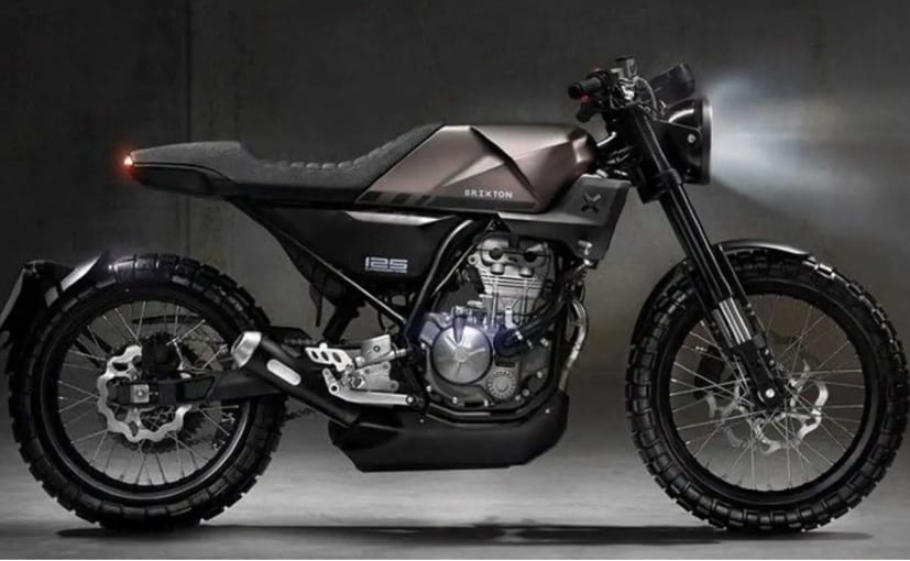 The Brixton Crossfire 125, based on a concept shown in 2019, will be launched later in 2021