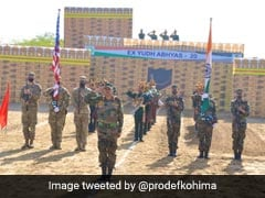 Indo-US Joint Military Exercise Begins In Rajasthan