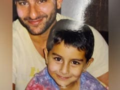 Just A Million Dollar Throwback Pic Of Saif Ali Khan With His Son Ibrahim