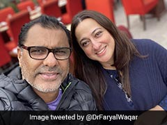 """Two Of My Fav"": Sania Mirza Wishes Waqar Younis And His Wife On Their Anniversary"