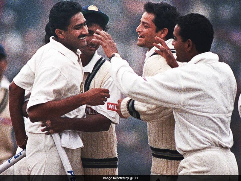Watch: Anil Kumble Became Second Bowler To Take 10 Wickets In Test Innings On This Day In 1999