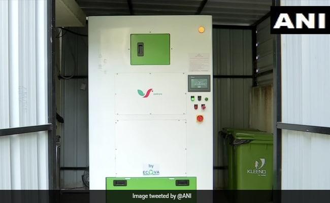 Pune Man Invents Machine To Ensure Safe Disposal Of Sanitary Napkins
