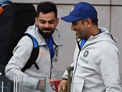 """""""Means Nothing To Me,"""" Says Virat Kohli On Possibly Breaking MS Dhoni's Test Record"""