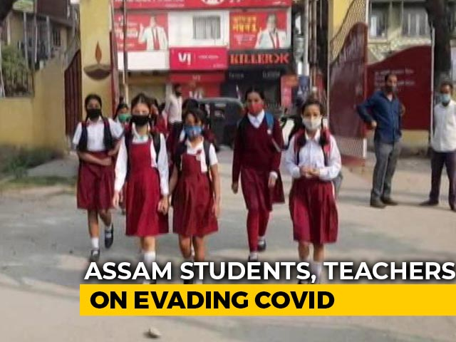 Video : Assam Schools Open Since December, But No Covid Spike