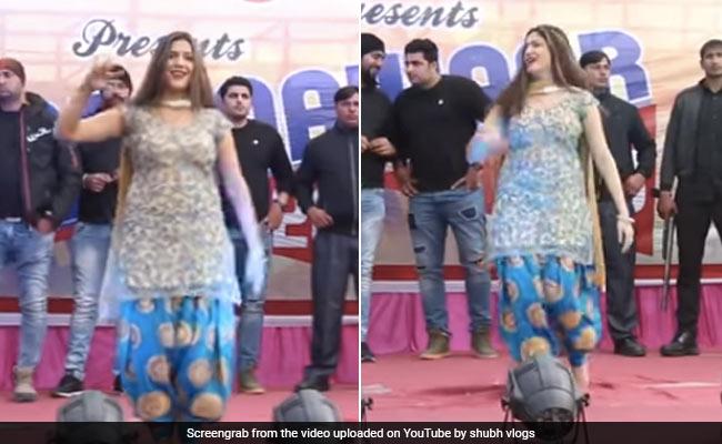 Sapna Chaudhary's bang dance on 'Teri Aankya Ka Yo Kajal', the video of Desi Queen went viral