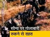 Video : जम्मू-कश्मीर में गोलाबारी रुकने से राहत पर लोग अभी भी डर के साये में जी रहे