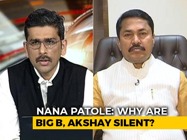 "Video : Maharashtra Congress Chief Questions Bollywood's ""Silence"" On Fuel Price Hike"