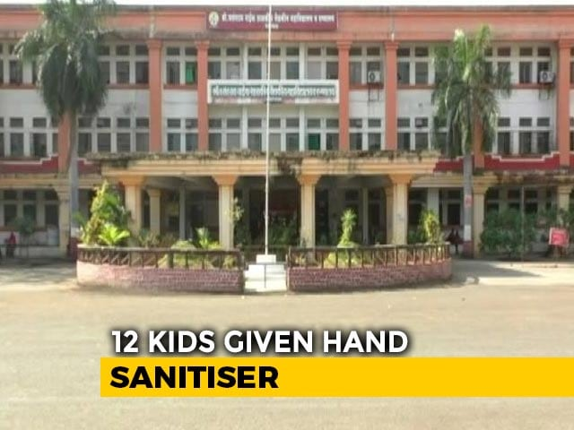 Video : 12 Children Given Sanitiser Instead Of Polio Drops In Maharashtra