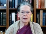 "Video : ""Very Disappointing... Unexpectedly So"": Sonia Gandhi On Election Results"