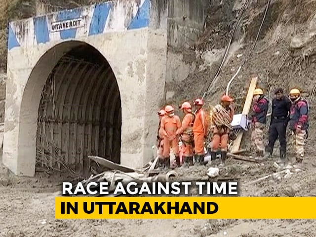 Video : Uttarakhand Disaster: Race Against Time As Rescue Workers Search For Survivors