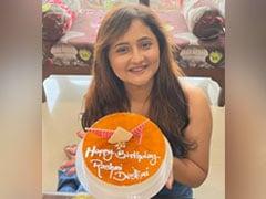 Rashami Desai Celebrates Birthday In Mumbai With Two Delicious Cakes! (See Pics)