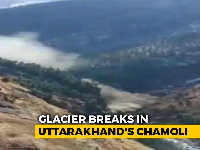 Video : Uttarakhand Power Plant Damaged After Glacier Break, Over 100 Feared Dead