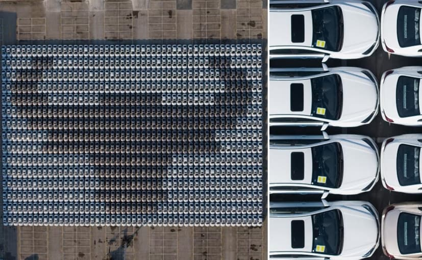 In total, 1,339 cars were gathered by China's Geely Emgrand Official Clubs to create the mosaic