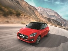 2021 Maruti Suzuki Swift Facelift Launched In India, Prices Start At Rs. 5.73 Lakh