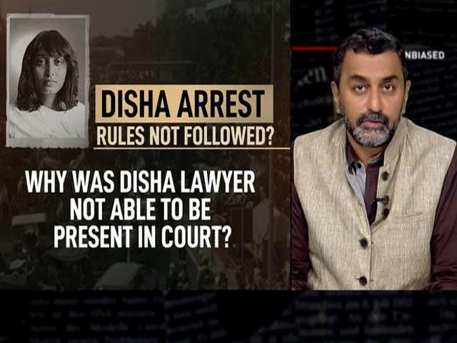 Video : Disha Ravi: Questions Over Arrest