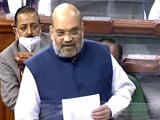 """Video : """"J&K Will Get Statehood At Appropriate Time"""": Amit Shah In Lok Sabha"""
