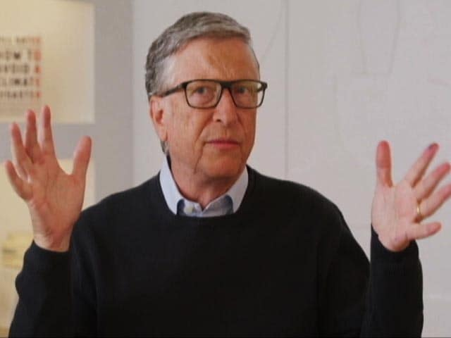 "Video : We Have 30 Years, Must Reduce ""Green Premium"" By 95%: Bill Gates To NDTV"