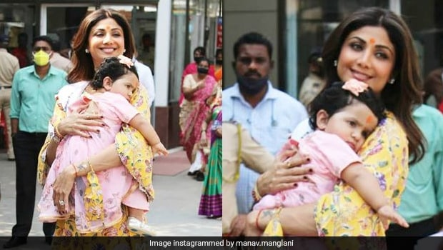 Shilpa Celebrates Daughter Birthday: Shilpa Shetty Celebrates Daughter Samisha's First Birthday With Two Tasty Stunning Cakes, See Pics