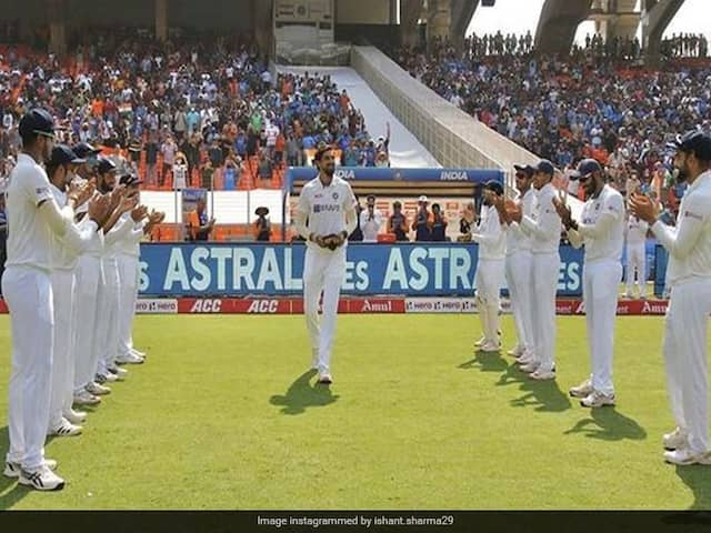 """""""Words Are Too Less"""": Ishant Sharmas Emotional Post On 100th Test"""