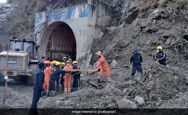 14 Dead In Uttarakhand Glacier Disaster, Search For 170 People: 10 Points - NDTV