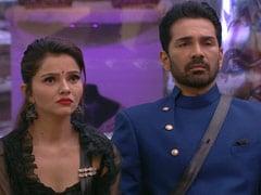 <I>Bigg Boss 14</i> February 9, 2021 Written Update: Abhinav Shukla Gets Eliminated, Rubina Dilaik Makes A Promise