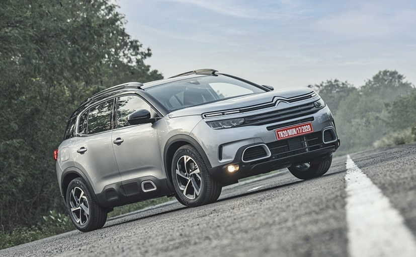 The new Citroen C5 AirCross SUV will be offered in two variants - Feel and Shine