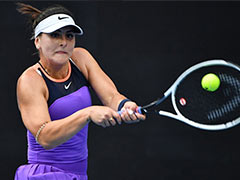 Australian Open: Bianca Andreescu In Tears After Winning Return From 15-Month Layoff