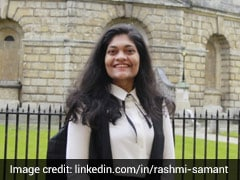 Rashmi Samant First Indian Woman To Head Oxford Students' Union