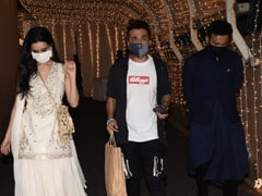 ICYMI: Shraddha Kapoor Left Priyaank Sharma's Wedding Party With Rumoured Boyfriend Rohan Shreshtha