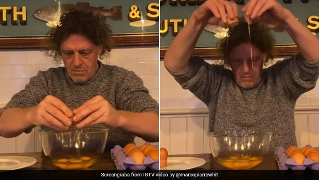 British Chef's Strange Video Tutorial To Crack Eggs Has Confused The Internet