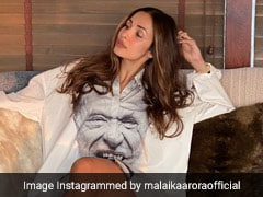 Malaika Arora Gives Shirt Dresses A Fun And Fashionable Twist