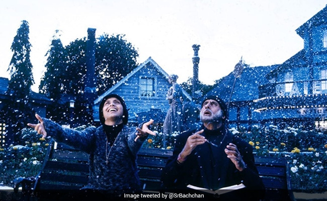 Here's How Amitabh Bachchan Marked 16 Years Of Black