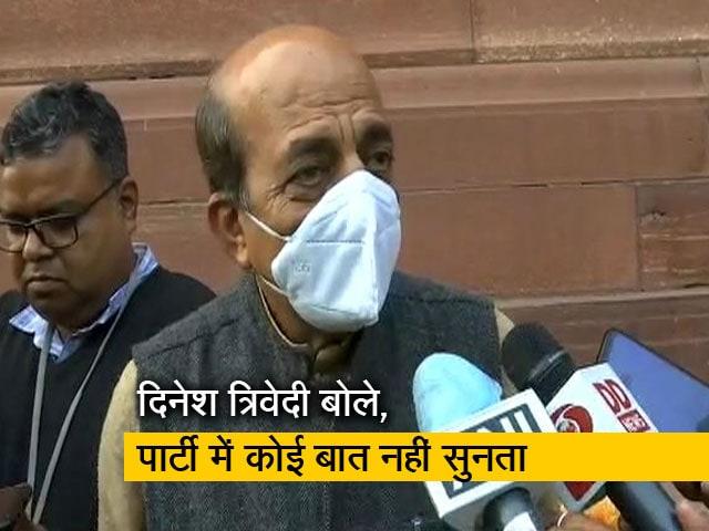 Videos : तृणमूल कांग्रेस से इस्तीफे पर बोले दिनेश त्रिवेदी, मेरे पास कोई और विकल्प नहीं बचा था